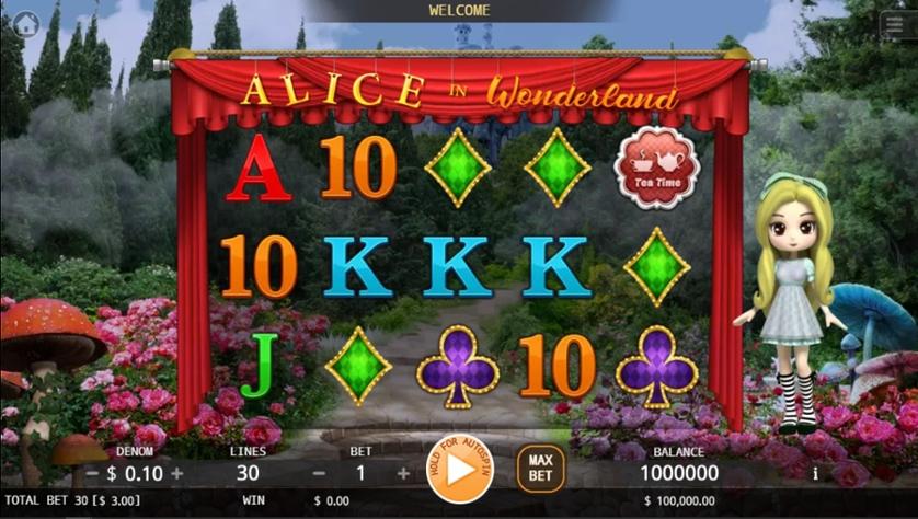 เกม Alice in wonderland