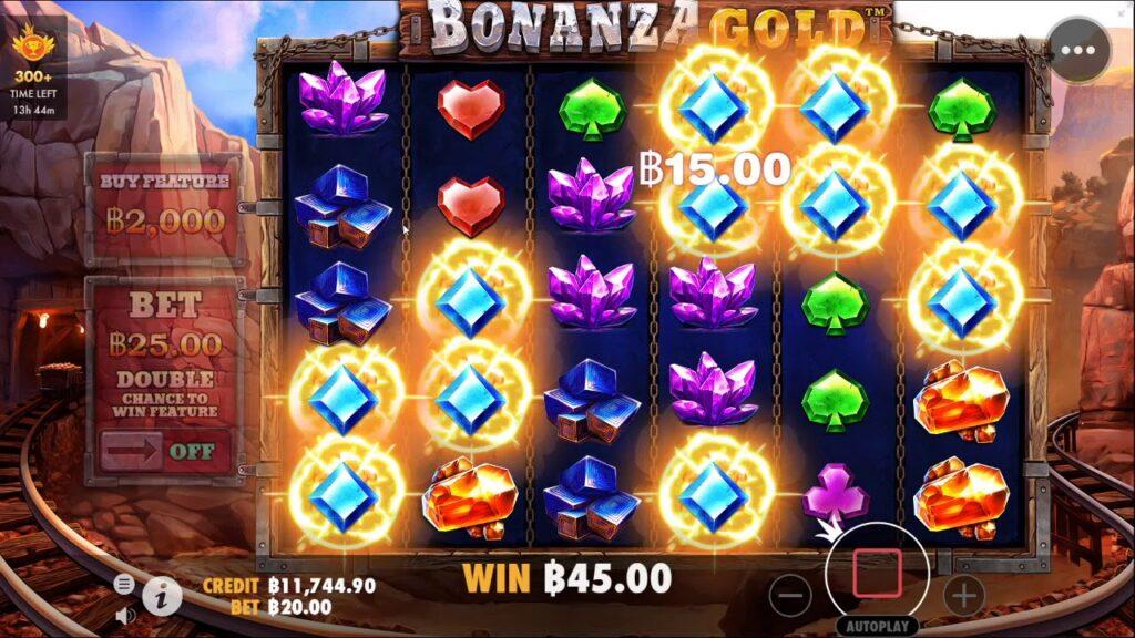 เกม Bonanza Gold