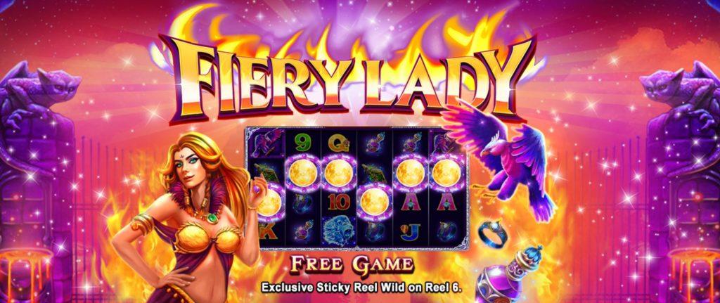 เกม Fiery Lady