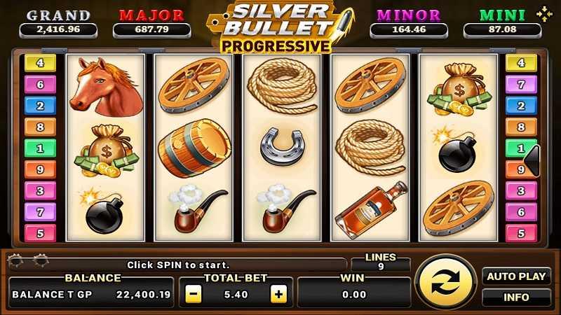 เกม Silver Bullet Progressive