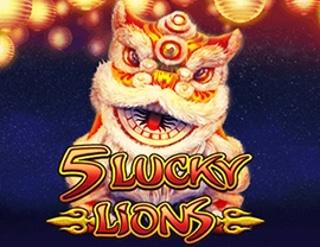 เกม 5 Lucky Lions