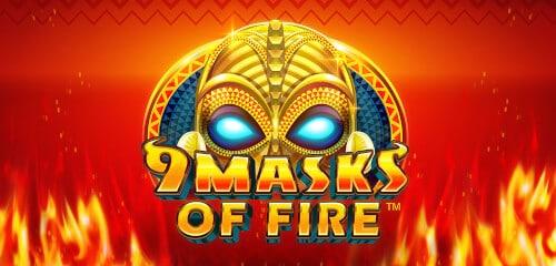 เกม 9 Masks of Fire สล็อตออนไลน์